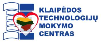 Logo of Klaipėdos technologijų mokymo centro VMA